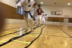 Nadace OKD tréninkové překážky a žebříky